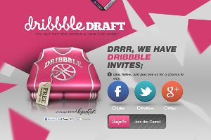 v5 Design's Dribbble Draft